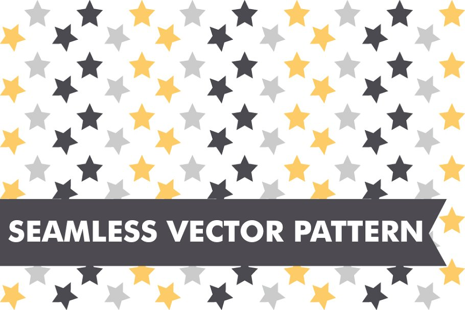 c1d73db8b7859 New Years Eve Stars Seamless Vector ~ Graphic Patterns ~ Creative Market