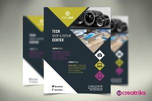 Tech Shop Flyer