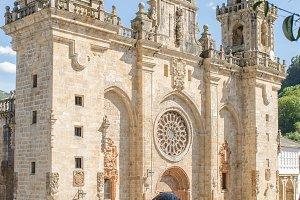 Mondonedo Cathedral, Galicia, Spain