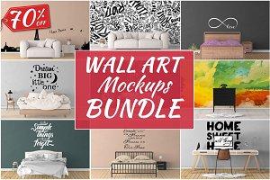 Wall Art Mockups BUNDLE V20