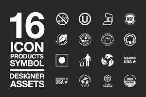 Designer Assets Vol2 : Icon/Symbol