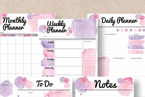 Planner 5 Pack - A4 & A5