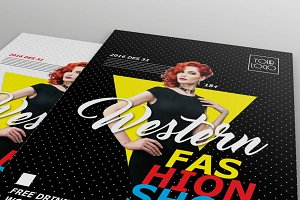 Fashion Show Flyers - 3 style layout