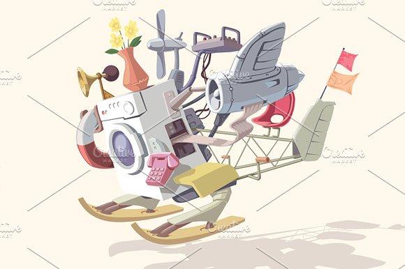 Strange Device no.2 - Illustrations