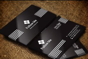 Follow Me Business Card