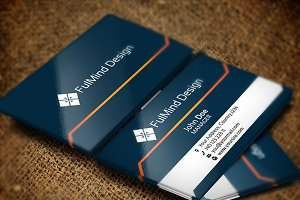 FullMind Design Business Card