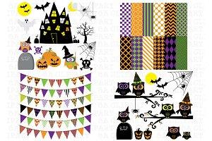 Halloween ClipArt Mega Pack