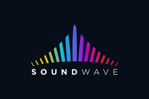 Creative Sound Wave Symbol