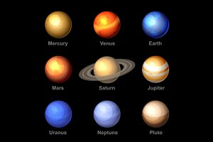 Planets of Solar System Icons
