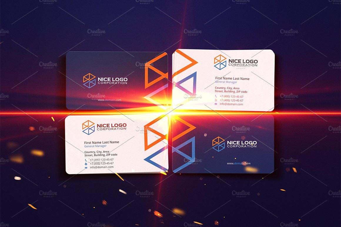 construction business card ~ Business Card Templates ~ Creative Market