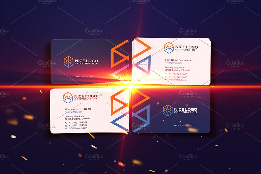 Construction Business Card Business Card Templates
