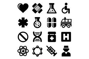 Medic Icons Set