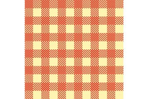 Seamless Vintage Square Pattern