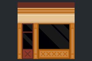 Shopfront Building Facade