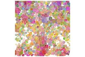 Loose Flower Swirls Pattern