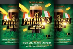 St. Patrick's Flyer Template