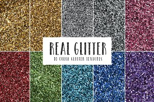 Real Glitter Textures
