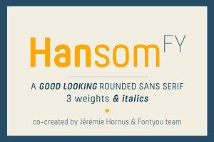 Hansom FY Bold Italic