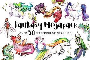 Fantasy Megapack - 25% Savings!
