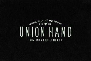 Union Hand Font