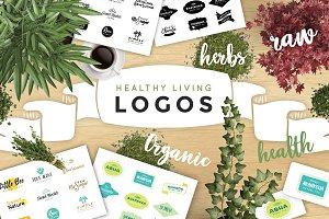 Healthy Living Logo Pack VOL1.