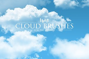 30 Cloud Photoshop Brushes