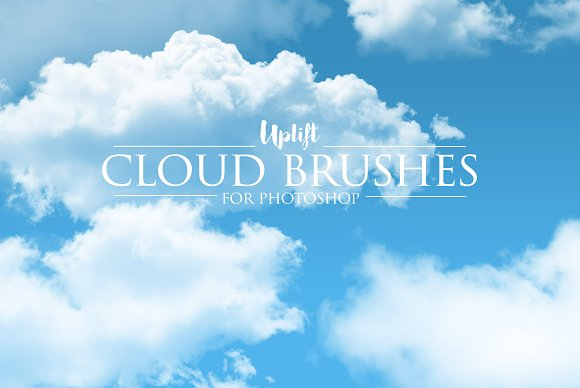 how to add cloud in photoshop