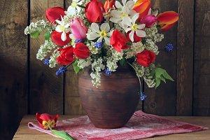 Spring bouquet.