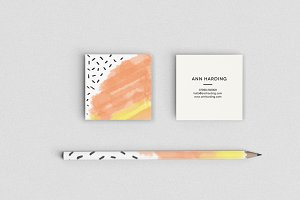 Feline Gum Business Card Template