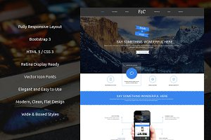 Fresh & Cool Bootstrap Theme