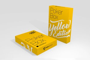 Poker/Playing Card Box