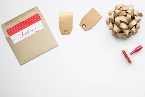 Christmas Card and Wrapping
