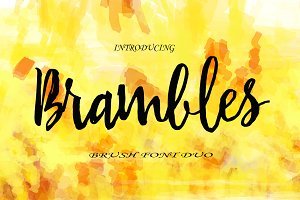 Brambles FontDuo