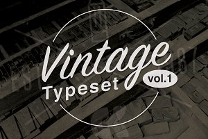 Vintage Typeset Vol.1