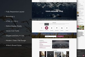 Independence Bootstrap Template