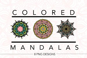 Colored Mandalas