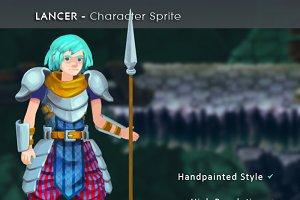 Lancer - Character Sprite