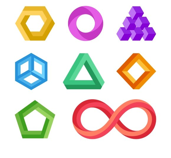 Impossible Geometric Shapes