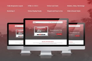 Power Responsive Bootstrap Theme