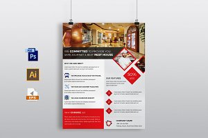 Hotel & Restaurant Flyer Template