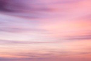 Defocused sunset sky