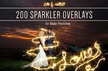 sparkler overlay