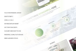 Morning Responsive Bootstrap Theme
