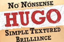 Brush Serif -Hugo *HAND PAINTED*