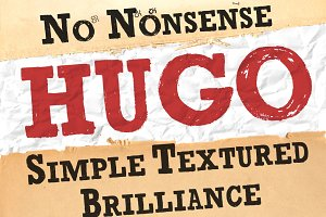 Brush Serif -Hugo *HAND PAINTED*