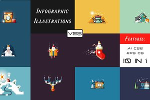 Infographic illustrations (v25)