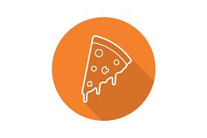 Pizzeria icon. Vector