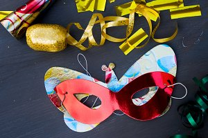 Masquerade decorations