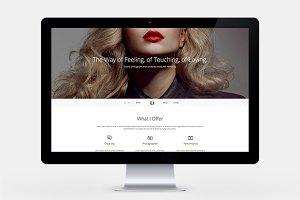 Li Photographer HTML Template