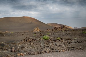 Volcano on the island of Lanzarote